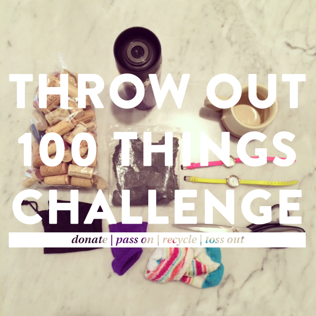 ThrowOut100ThingsChallenge