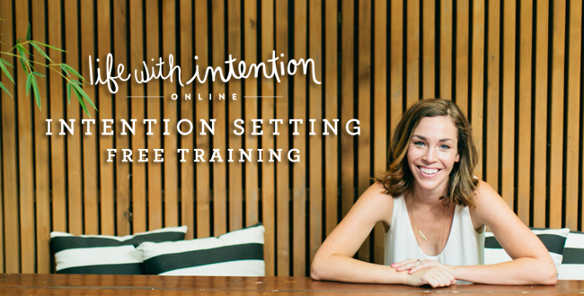 IntentionSettingTraining